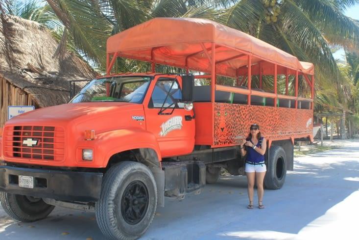 Transport pour touriste