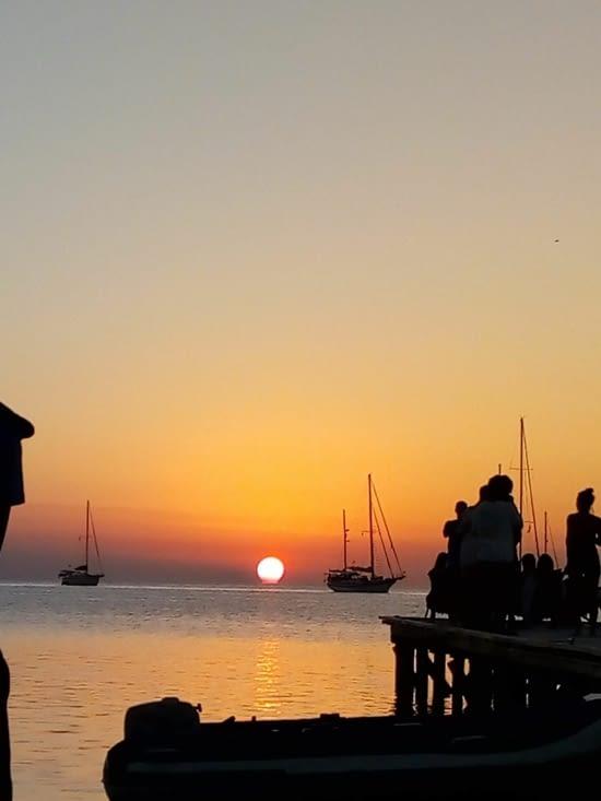 Coucher de soleil 31 mars19