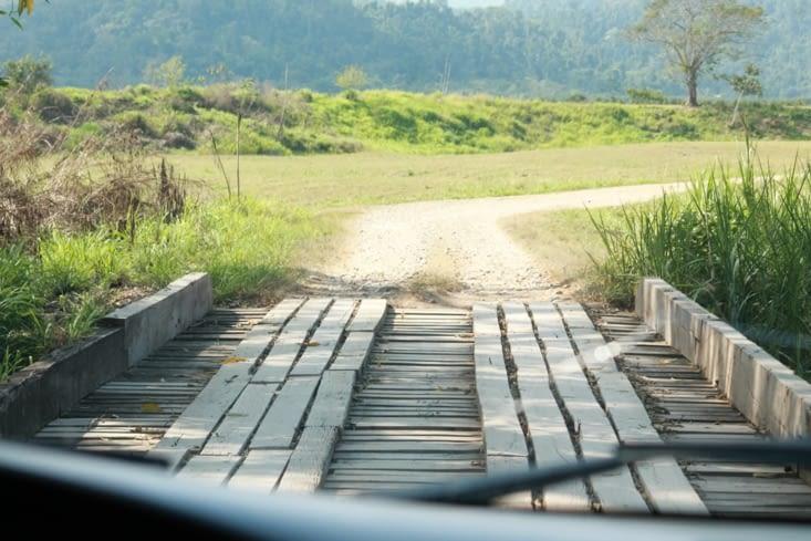 La route heu non je veux  dire la piste