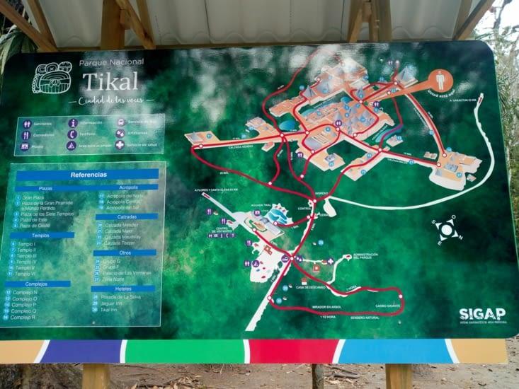 Plan Tikal