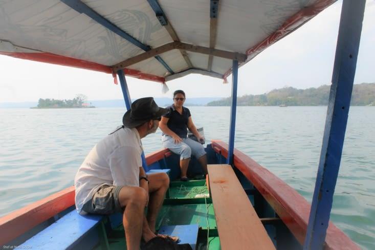 Tour en Lancha sur le lac