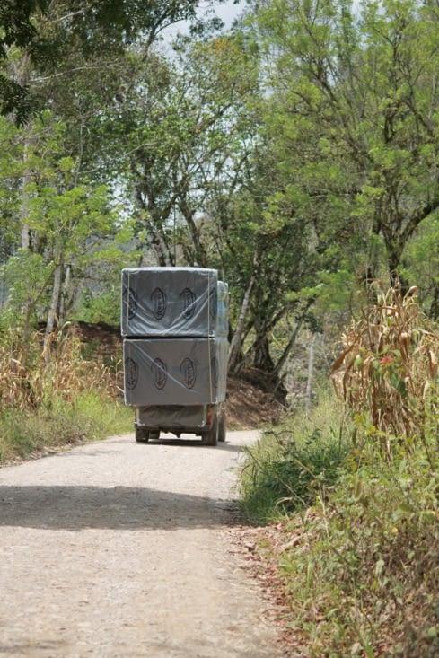 Transport de matelas