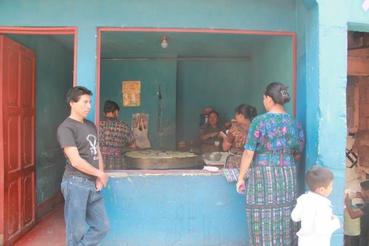 Fabrication des tortillas