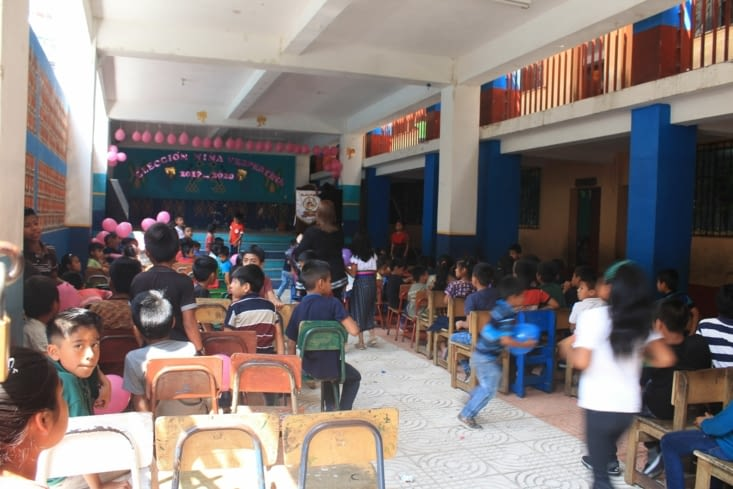 Un classe d école