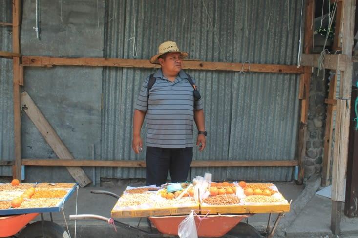 Vendeur de cacahuètes