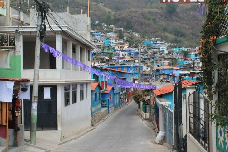 Vue de l intérieur du village