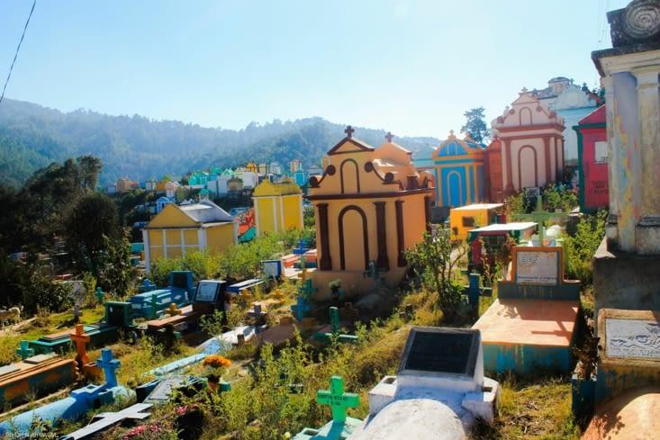 Cimetière du village