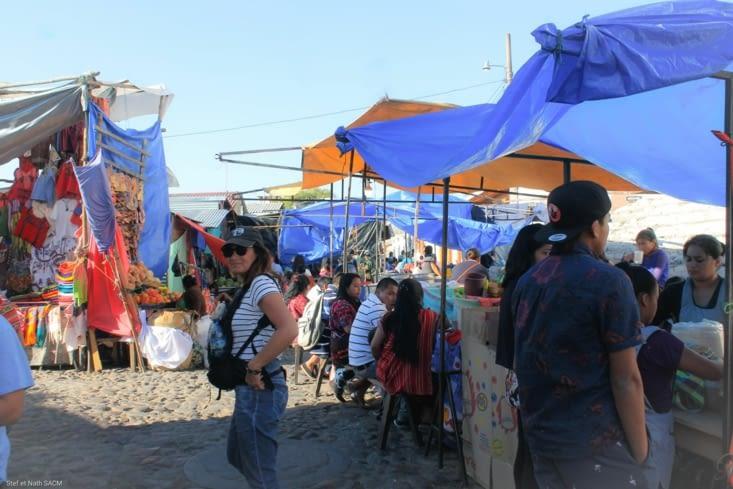 Installation du marché