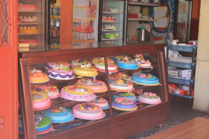 Une pâtisserie  locale  coloré
