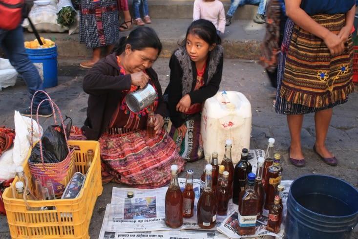 Vendeurs de miel