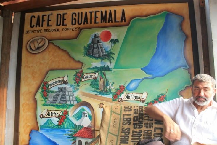Café région Atitlan