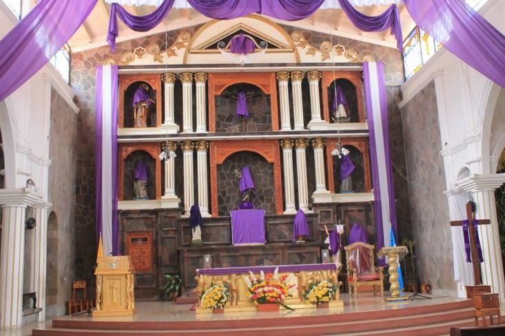Intérieur  de l église de San Juan