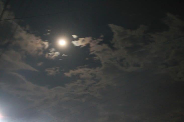 Et c'est la pleine lune!