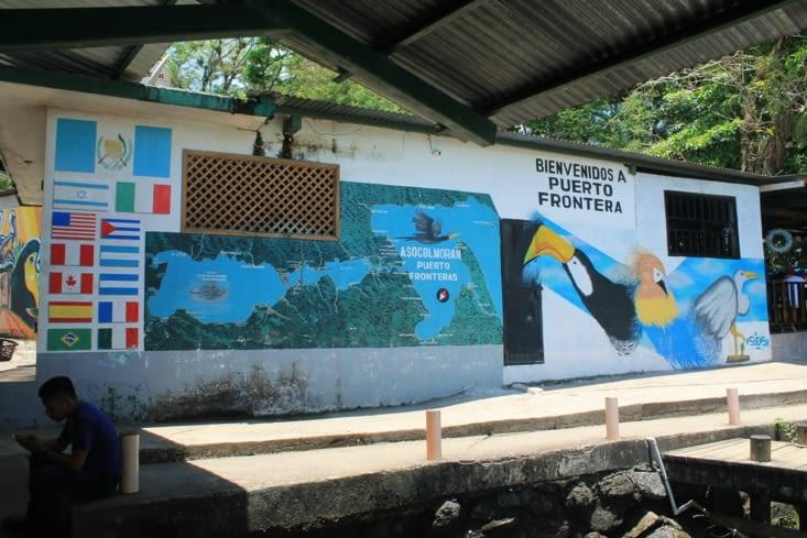 Carte touristique de la zone du Rio Dulche