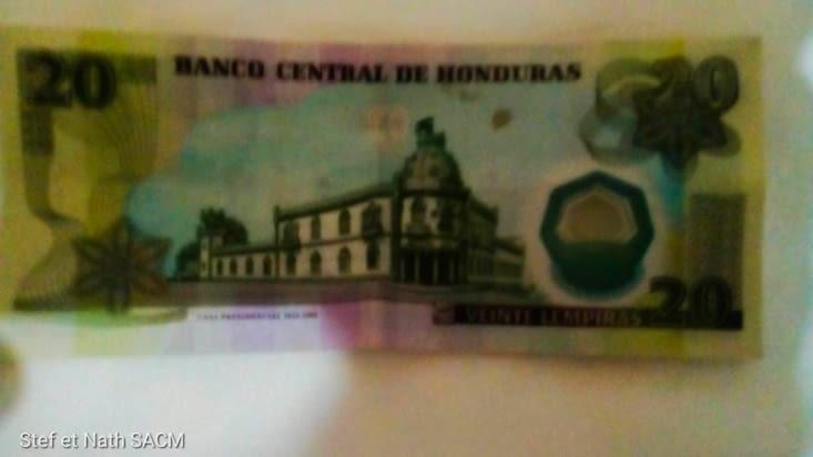 Billet du Honduras