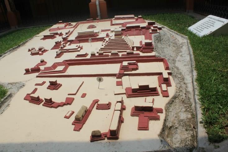 Maquette Ruines Copan