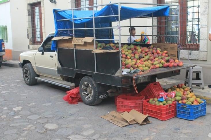 Marchand de mangues