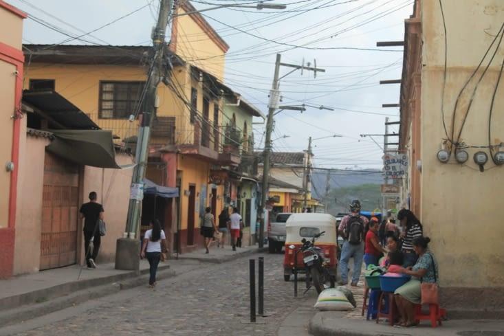 Vendeurs de rue