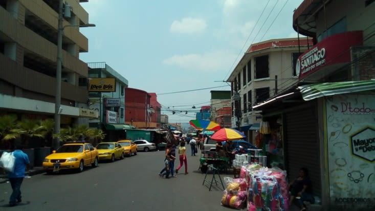Les rues commerçantes
