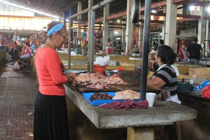 Marché de viande