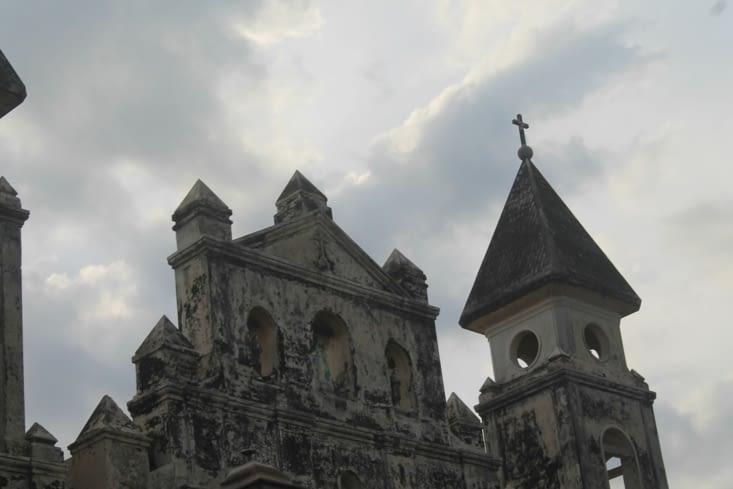 Devant  de l église  original