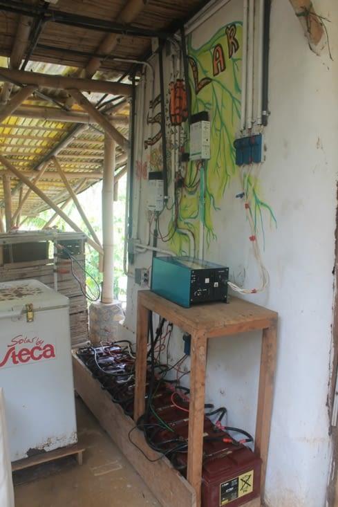Stockage électrique des panneaux solaires
