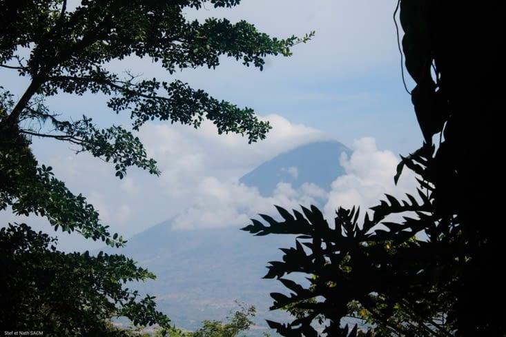Ça vaut la peine, la vue sur l autre volcan est sublime