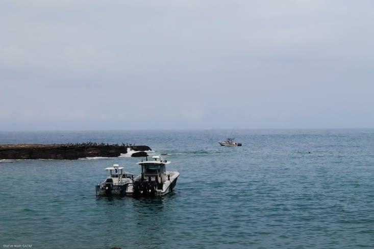 Sortie du port de San Juan del Sur