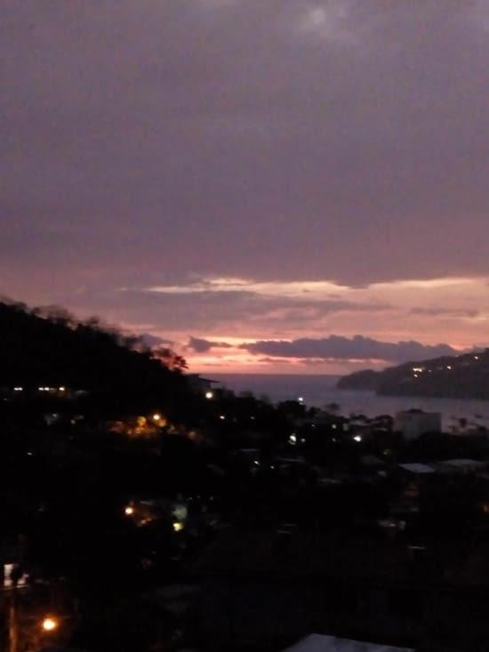 Dernier coucher de soleil du Nicaragua