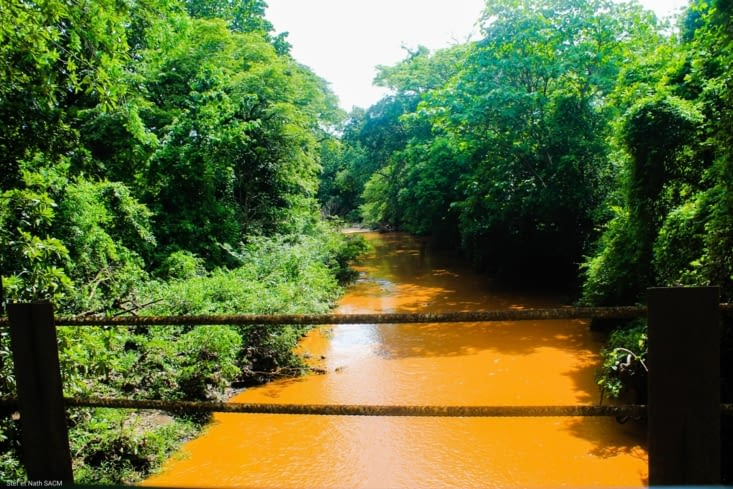 Le rio apres les pluies