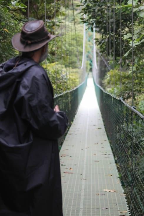 pont suspendus le plus long du Costa Rica