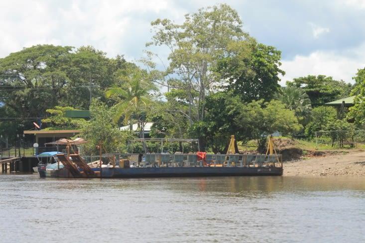 Un ancien embarcadère toujours en fonction