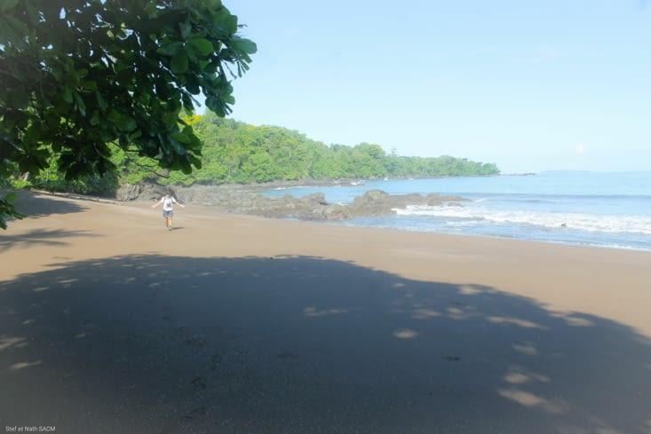Une autre plage déserte