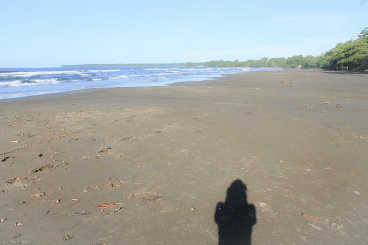 Cahuita playa negra