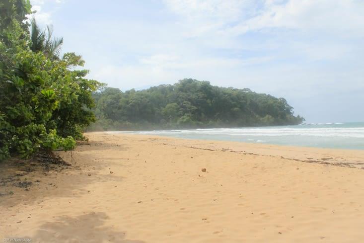 La superbe plage qui se mérite