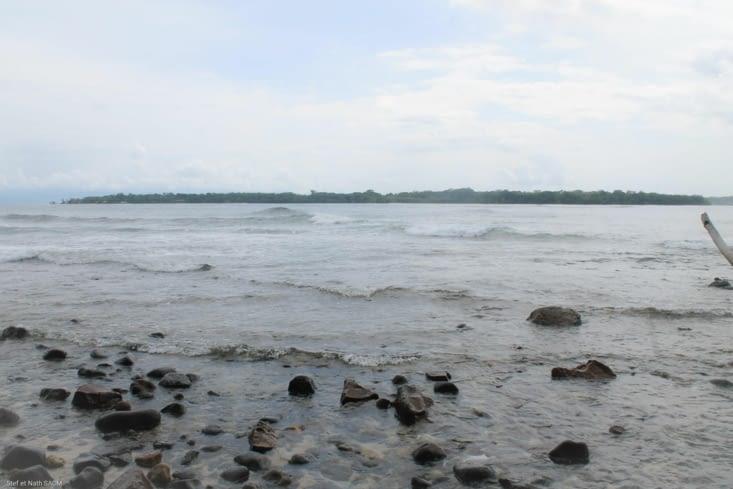 En face l ile de Bocas del Tor0