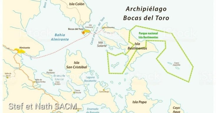 Carte de l archipel