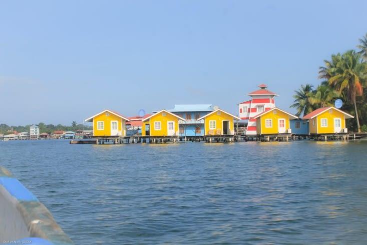 Hôtel entre Bocas et Bastimentos