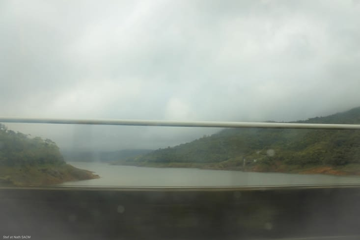 Le barrage  de la Fortuna