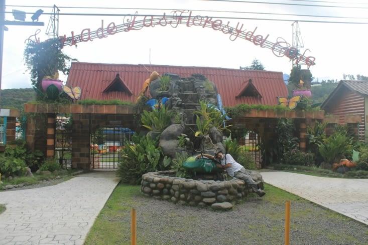 Un parc d attraction fermé en cette période