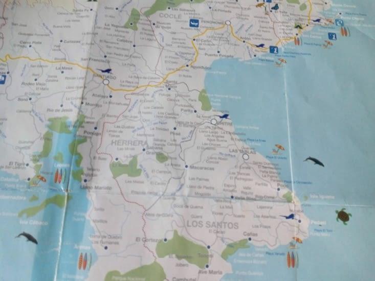 Petite carte de la région