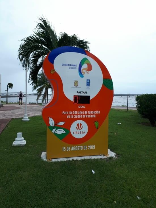 Anniversaire qui approche 500 ans de la ville de Panama