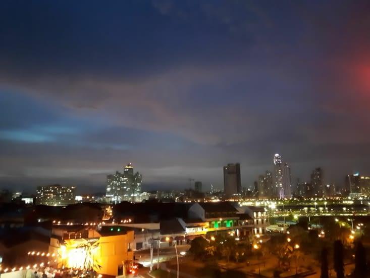 Panama by night