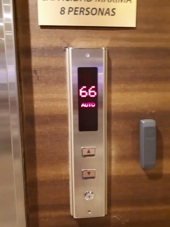 66 ème étage  en quelques minutes