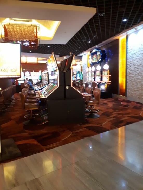 Le casino de l hôtel Mariott Trump