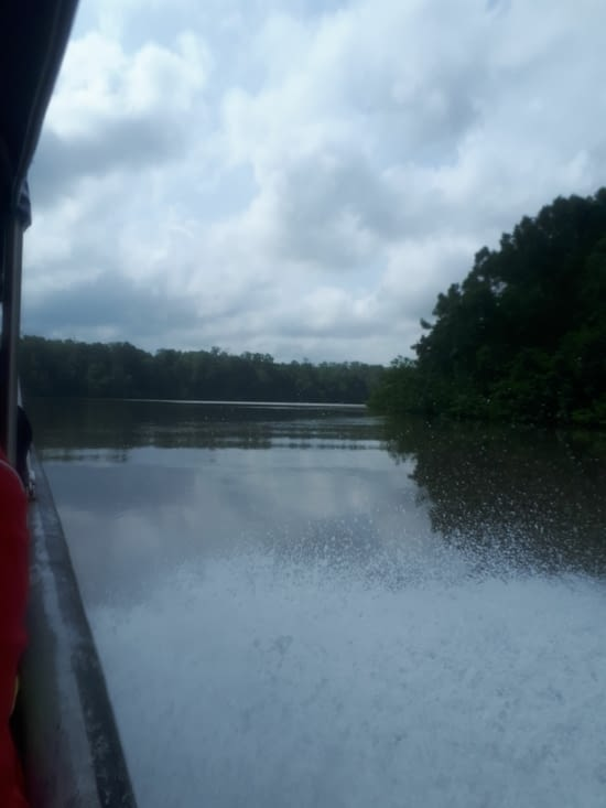 L entrée du rio sabalo