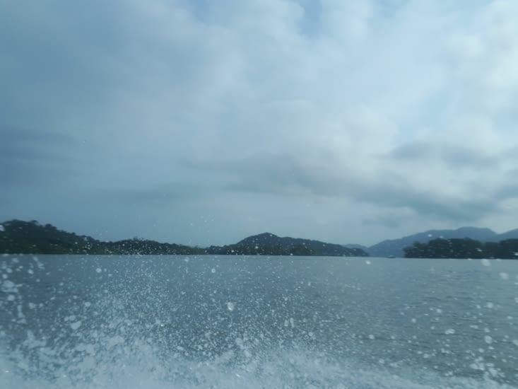 La sortie du Rio arrivée dans le Pacifique