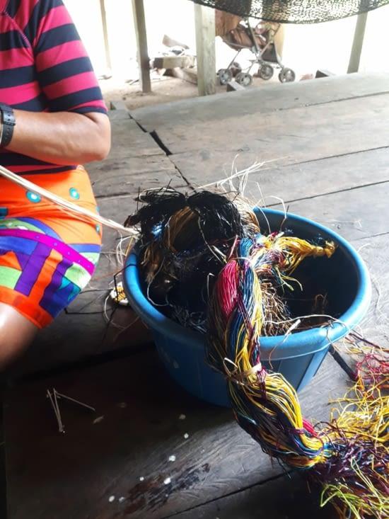 les fibres teintures naturelles