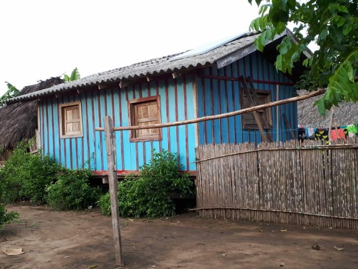 Une maison  colorée
