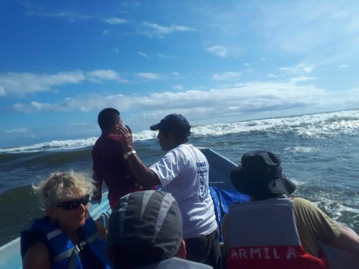 En route pour l'ile Anachucuna